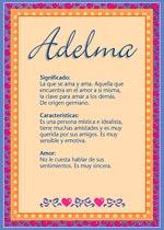 Nombre Adelma