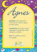 Nombre Agnes