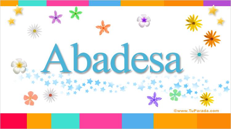 Abadesa, imagen de Abadesa