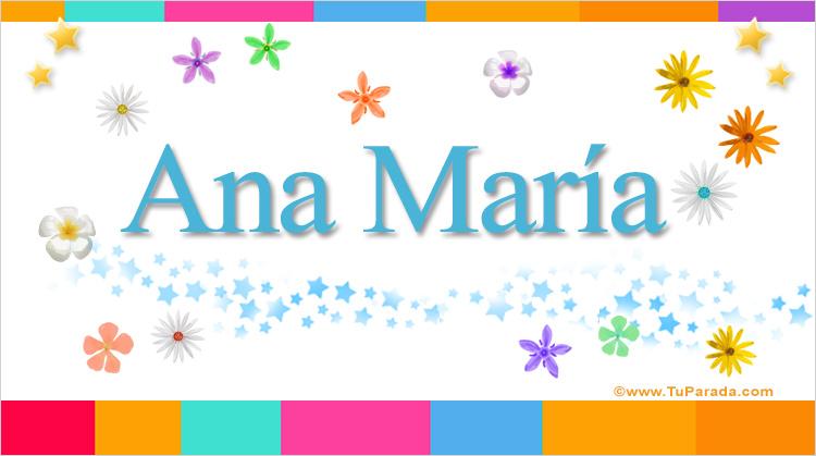 Ana María, imagen de Ana María