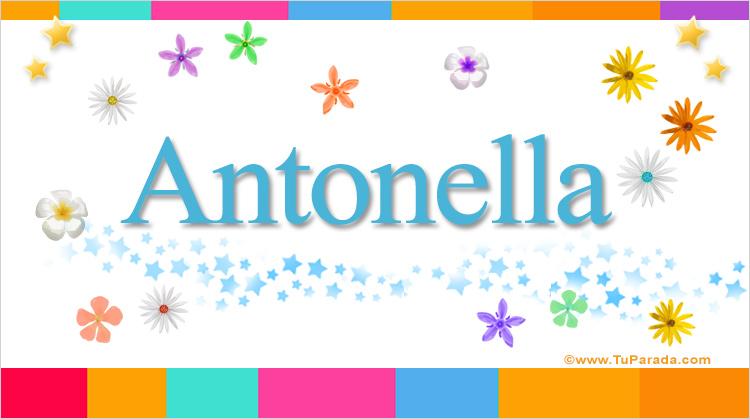 Antonella, imagen de Antonella
