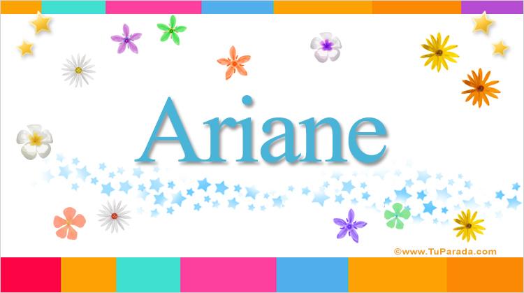 Ariane, imagen de Ariane