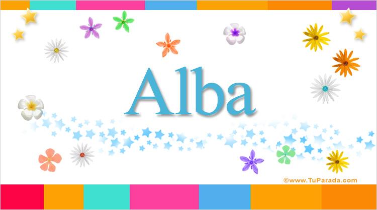 Alba, imagen de Alba
