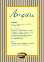 Nombre Amparo