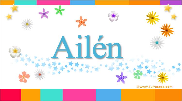 Ailén, imagen de Ailén