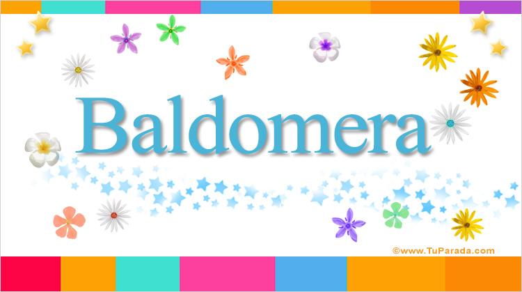 Baldomera, imagen de Baldomera