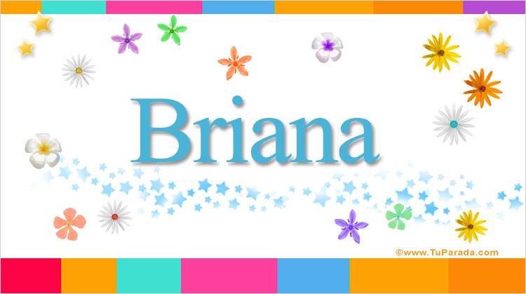 Briana, imagen de Briana