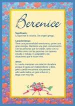 Nombre Berenice