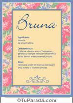 Nombre Bruna