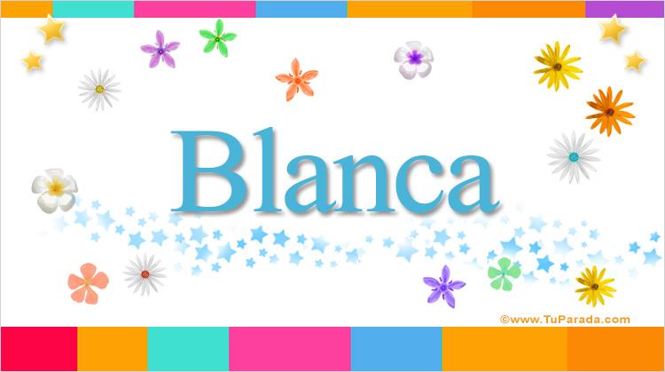 Blanca, imagen de Blanca