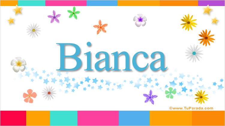 Bianca, imagen de Bianca