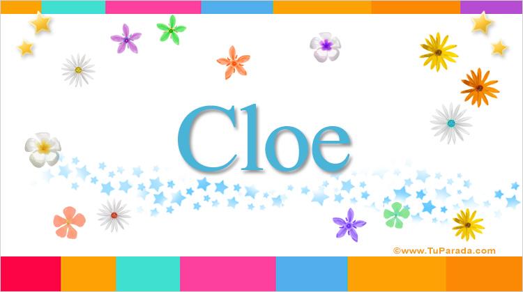Cloe, imagen de Cloe