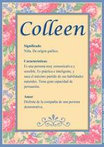 Nombre Colleen