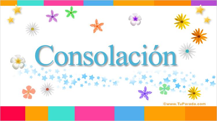 Tarjeta - Consolación