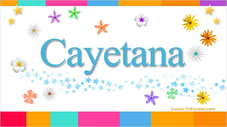 Cayetana, imagen de Cayetana