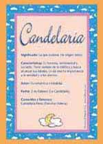 Nombre Candelaria