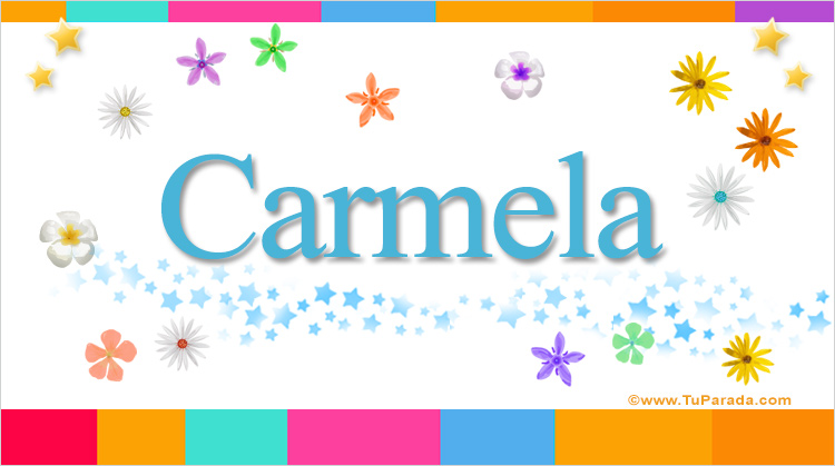 Carmela, imagen de Carmela