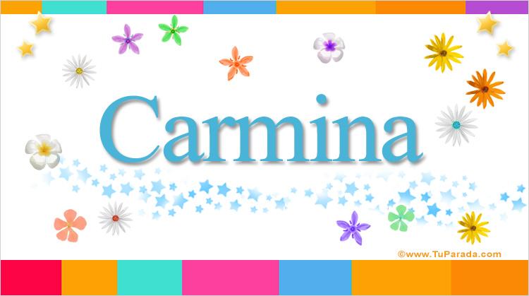 Carmina, imagen de Carmina