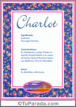 Nombre Charlot