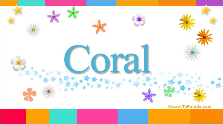 Coral, imagen de Coral
