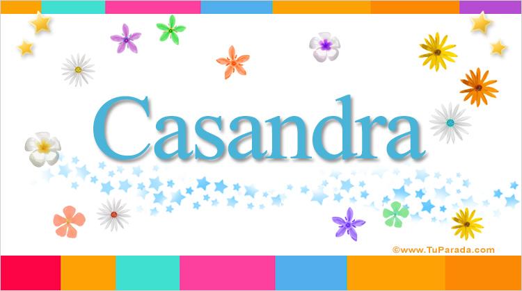 Casandra, imagen de Casandra