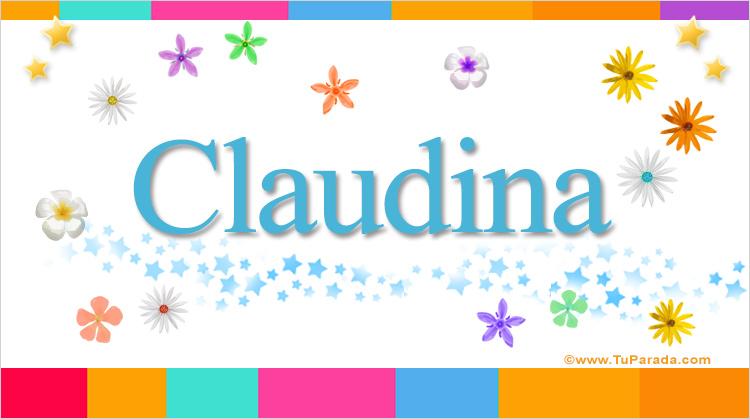 Claudina, imagen de Claudina