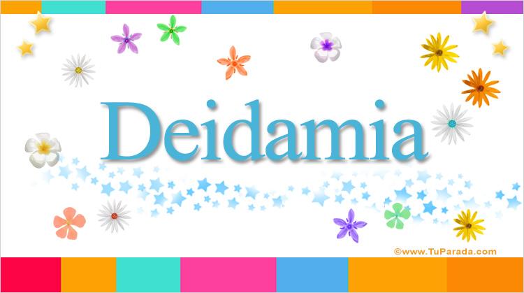 Deidamia, imagen de Deidamia