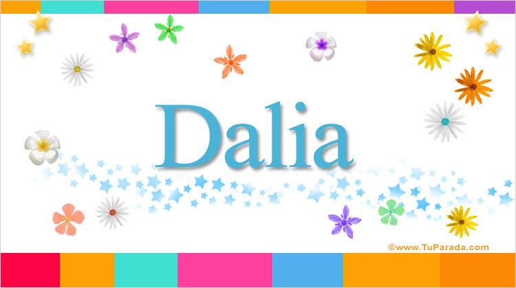 Dalia, imagen de Dalia