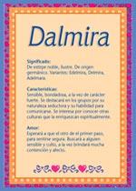 Nombre Dalmira