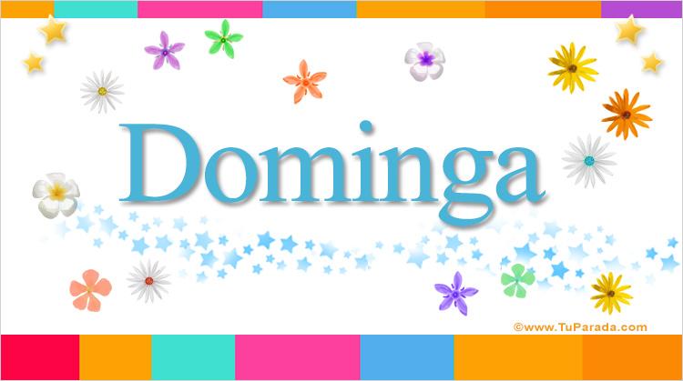 Dominga, imagen de Dominga
