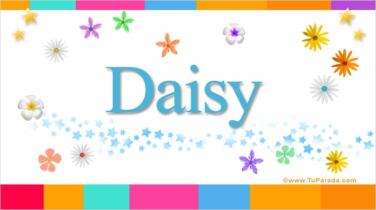 Daisy, imagen de Daisy