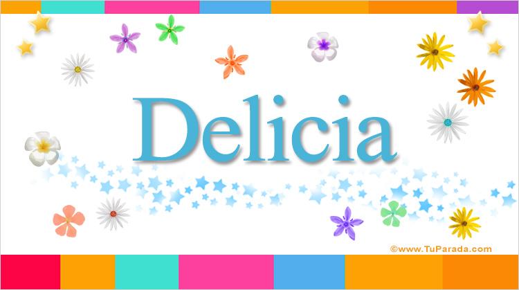 Delicia, imagen de Delicia