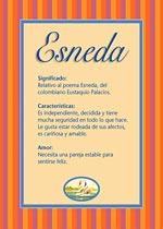 Nombre Esneda