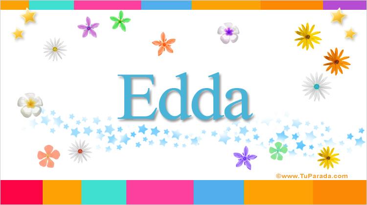 Edda, imagen de Edda