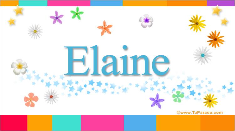 Elaine, imagen de Elaine