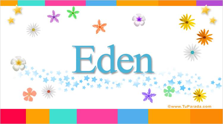 Eden, imagen de Eden