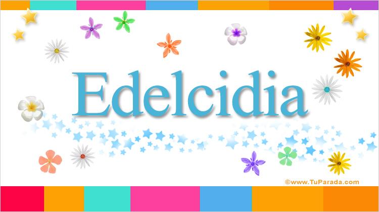 Edelcidia, imagen de Edelcidia