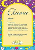 Nombre Eliana