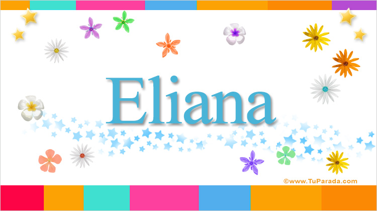 Eliana, imagen de Eliana