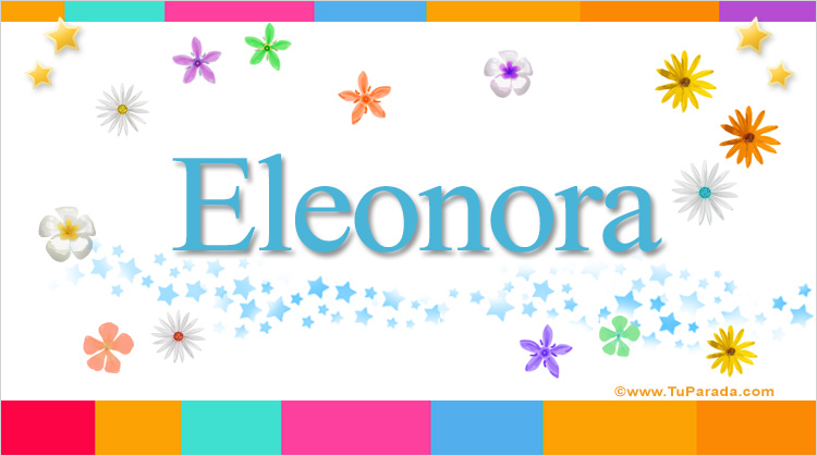 Eleonora, imagen de Eleonora