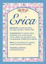 Origen y significado de Erica