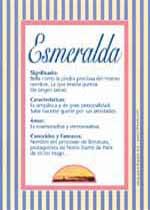 Nombre Esmeralda