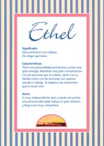 Nombre Ethel