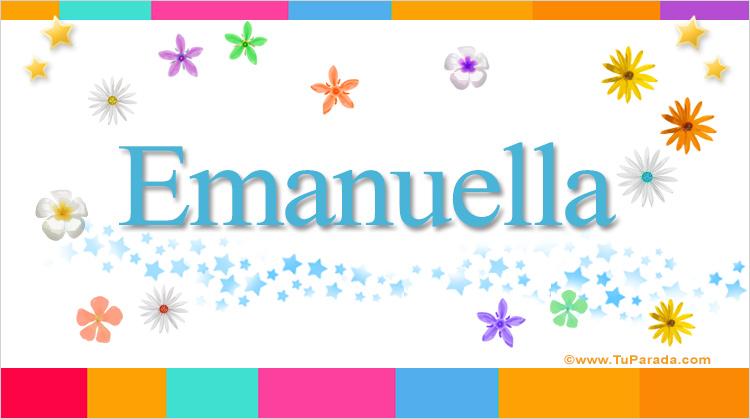 Emanuella, imagen de Emanuella
