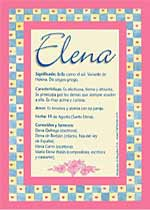 Origen y significado de Elena