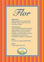 Origen y significado de Flor