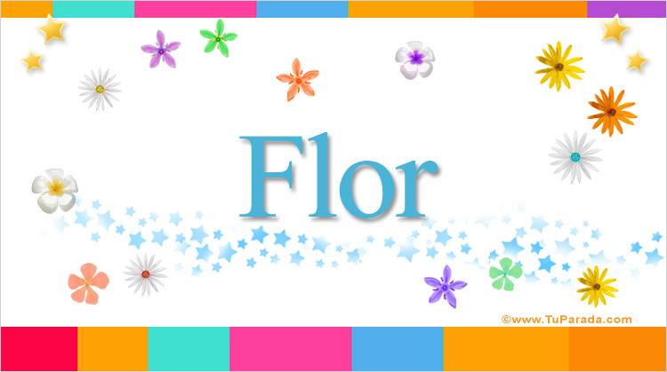 Flor, imagen de Flor