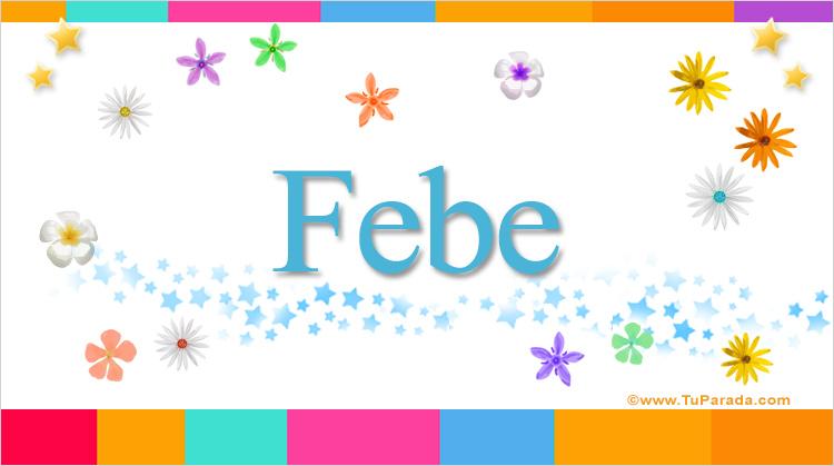 Febe, imagen de Febe