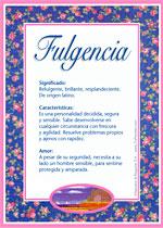 Nombre Fulgencia