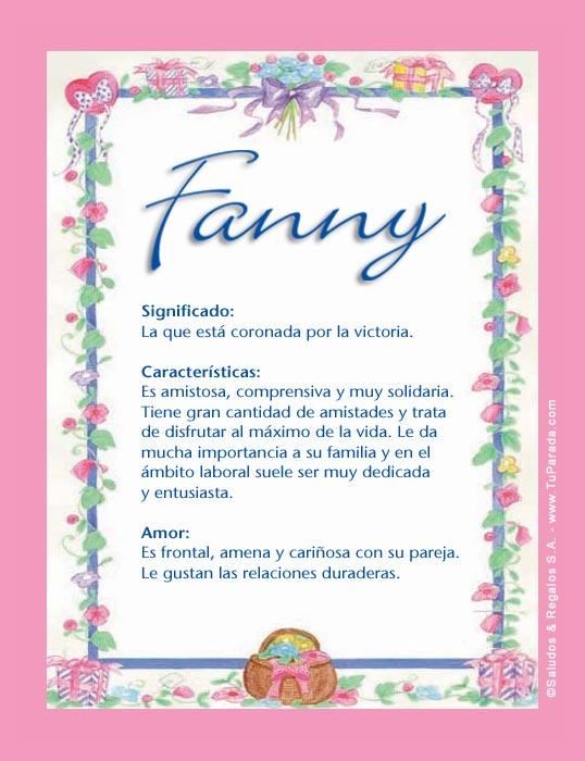 Fanny, imagen de Fanny